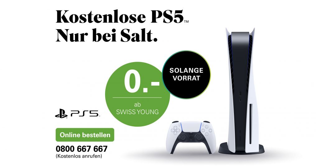 PlayStation 5 offer